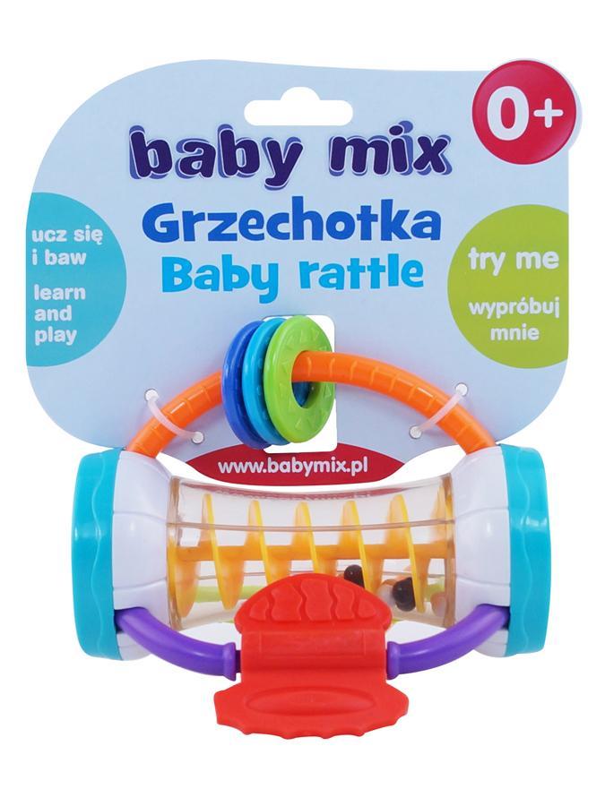 Dětské chrastítko Baby Mix barevný válec