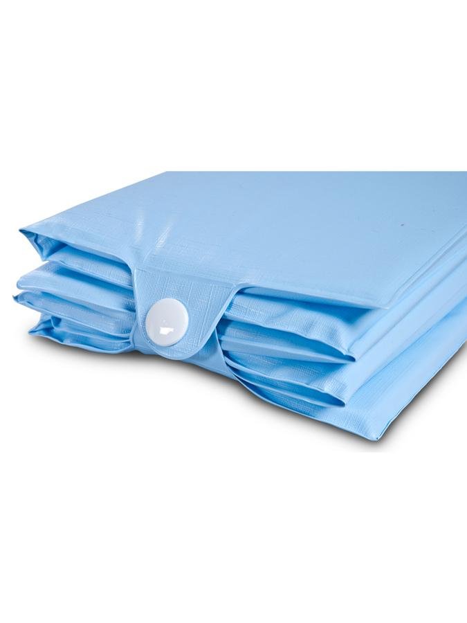 Cestovní přebalovací podložka Sensillo modrá
