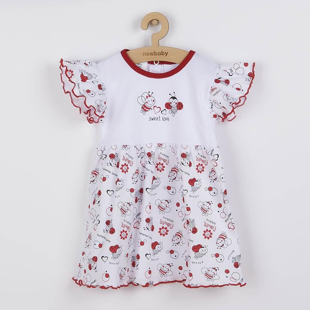 Kojenecké šaty New Baby Beruška, Velikost: 74 (6-9m)