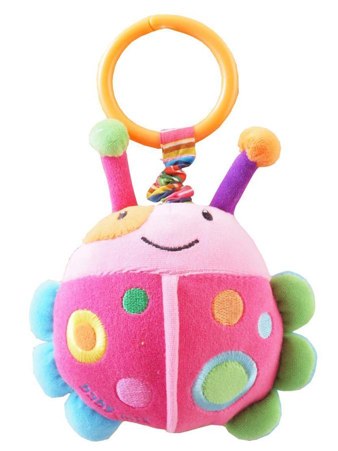 Dětská plyšová hračka s vibrací Baby Mix beruška