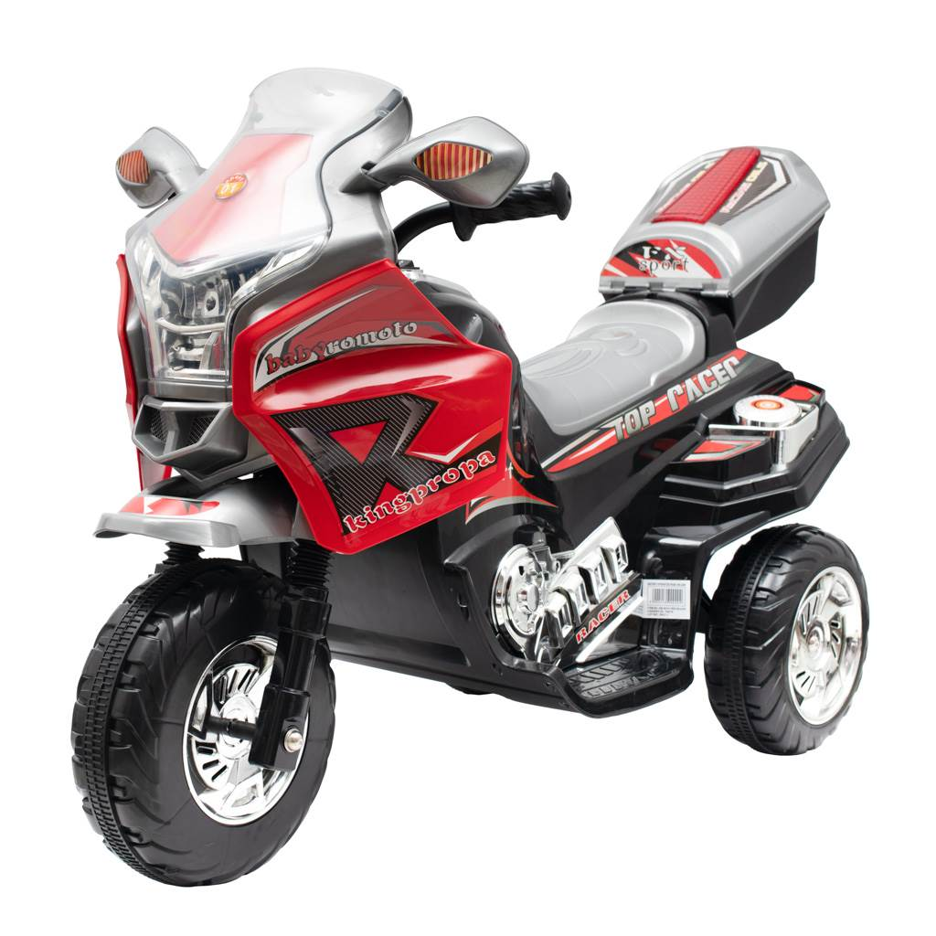 Dětská elektrická motorka Baby Mix RACER červená