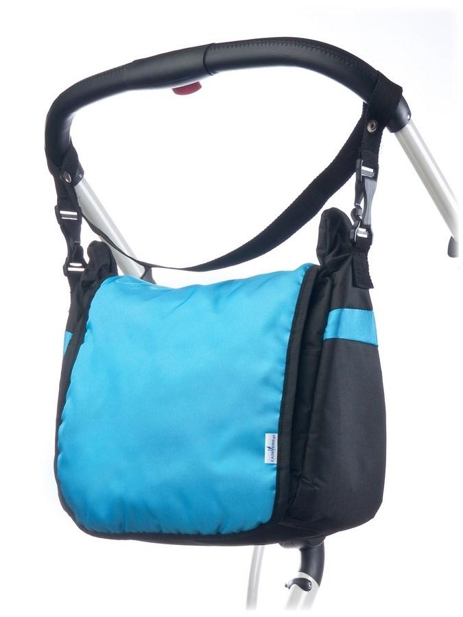 Taška na kočárek CARETERO - turquoise