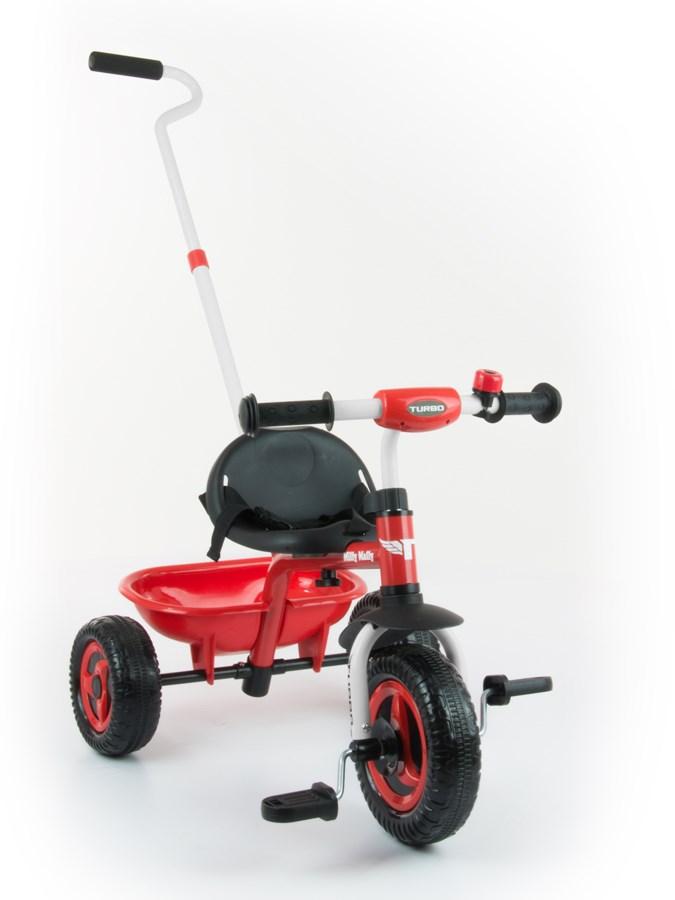 Dětská tříkolka Milly Mally Boby TURBO red