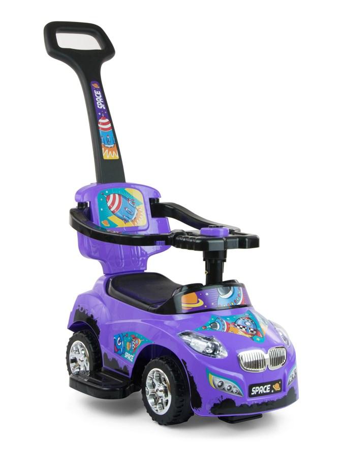 Dětské jezdítko 2v1 Milly Mally Happy purple