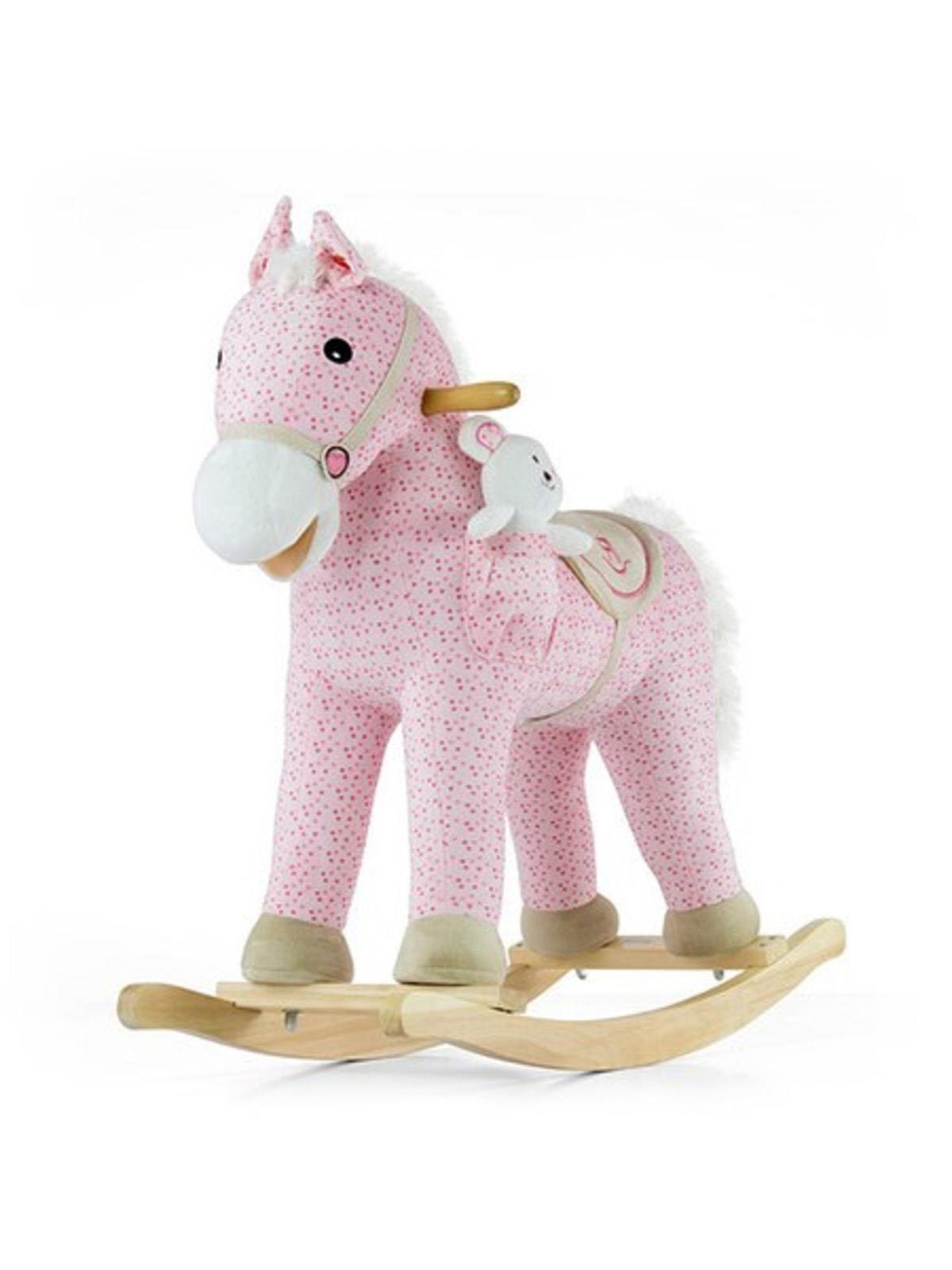 Houpací koník s melodií Milly Mally Pony růžový