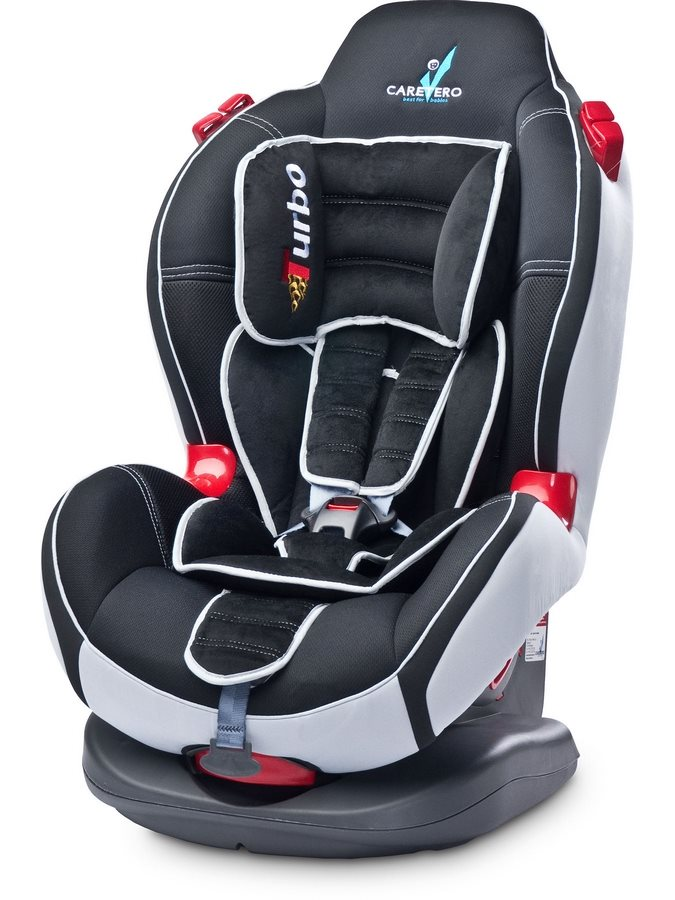 Autosedačka CARETERO SPORT TURBO black 2020