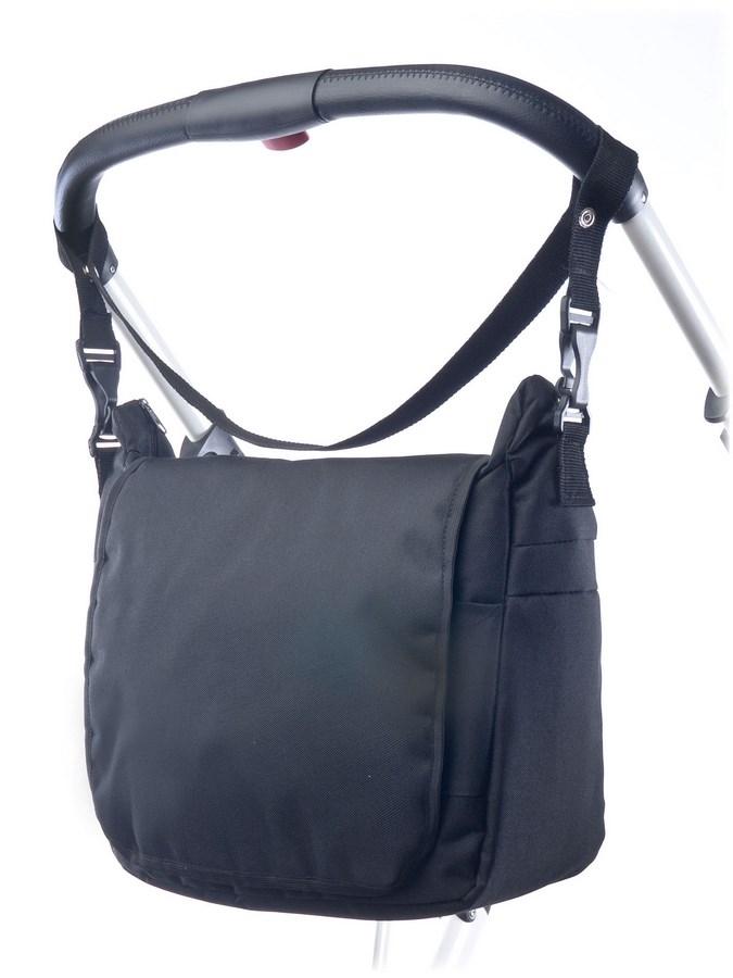 Taška na kočárek CARETERO - black