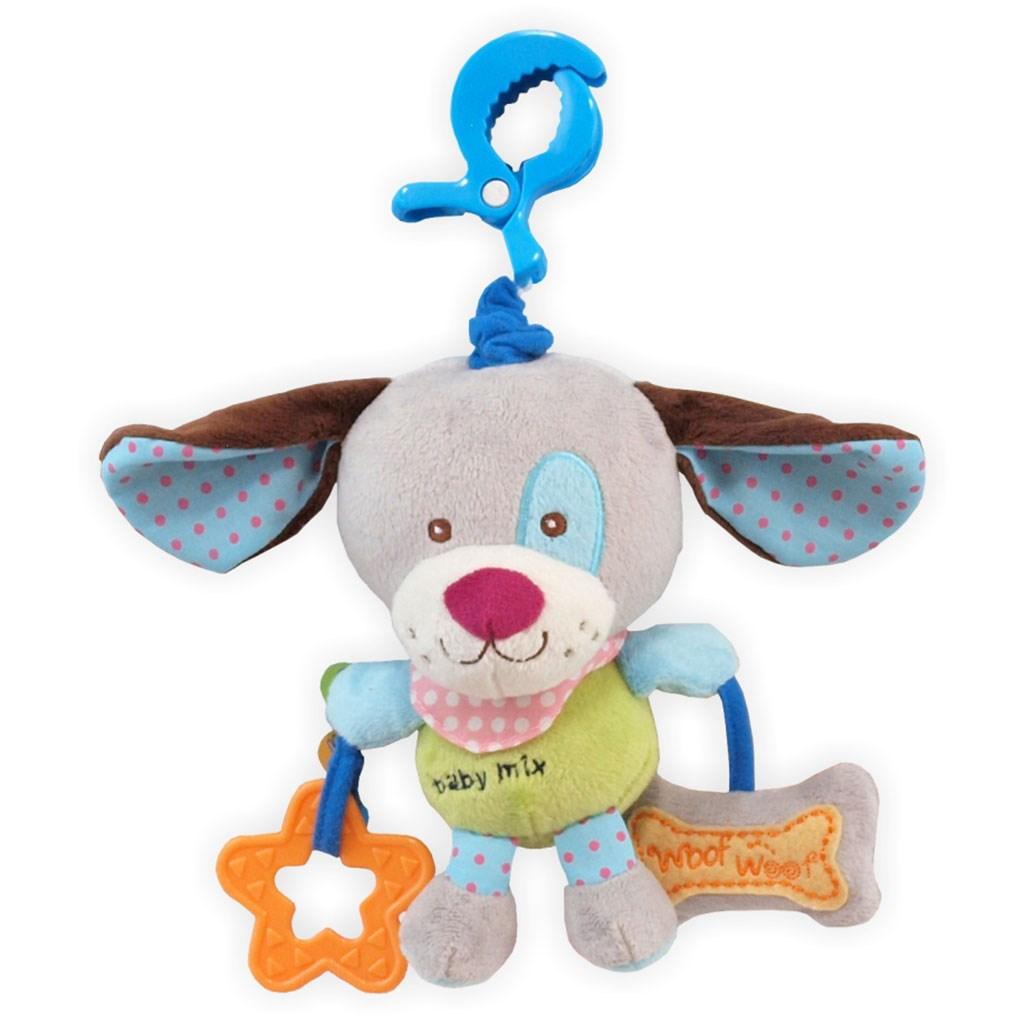 Dětská plyšová hračka Baby Mix Pejsek